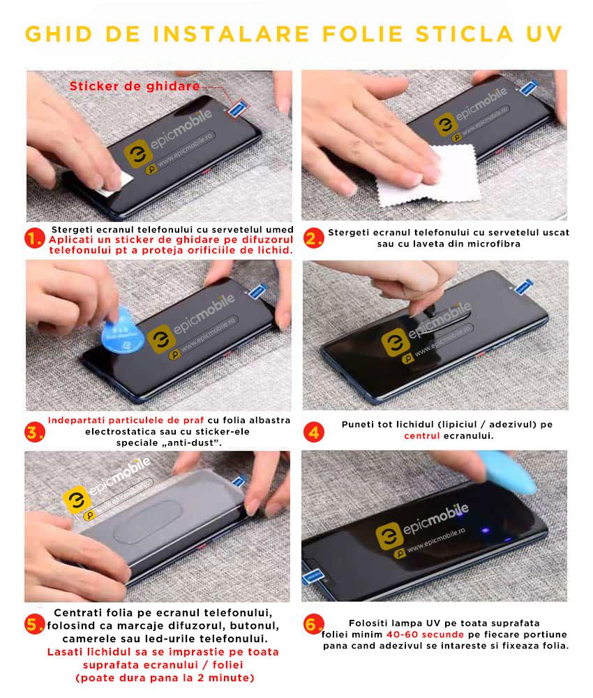 Ghid Instalare Folie UV - EpicMobile